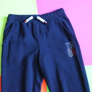 TH85 Tommy Hilfiger Blue Cut Casual Sweatpants
